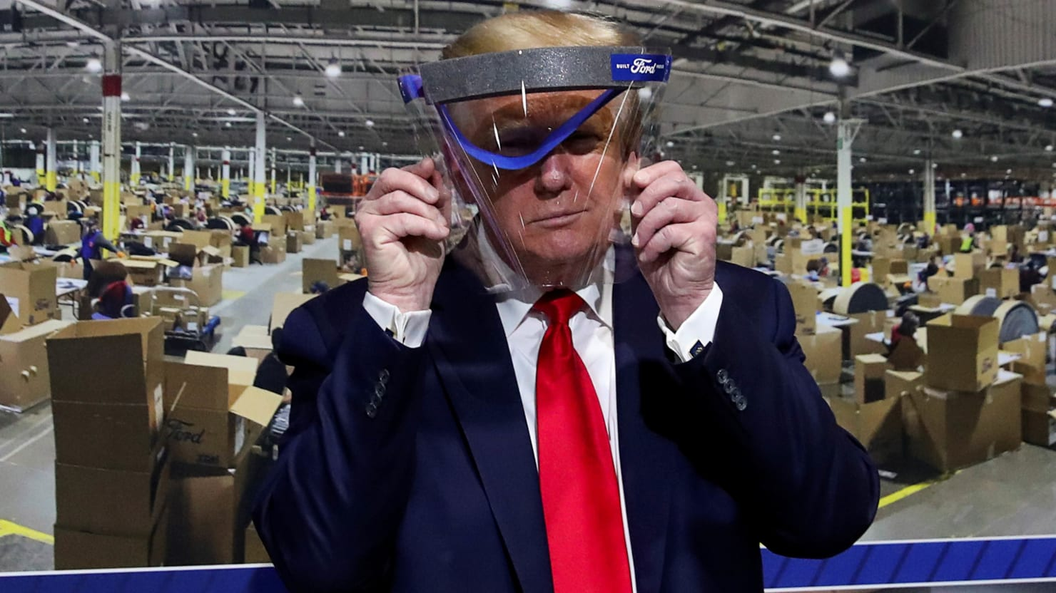'Bill Gates Wants Us to Get It': The Deranged Scene at Trump's Ford Factory Tour