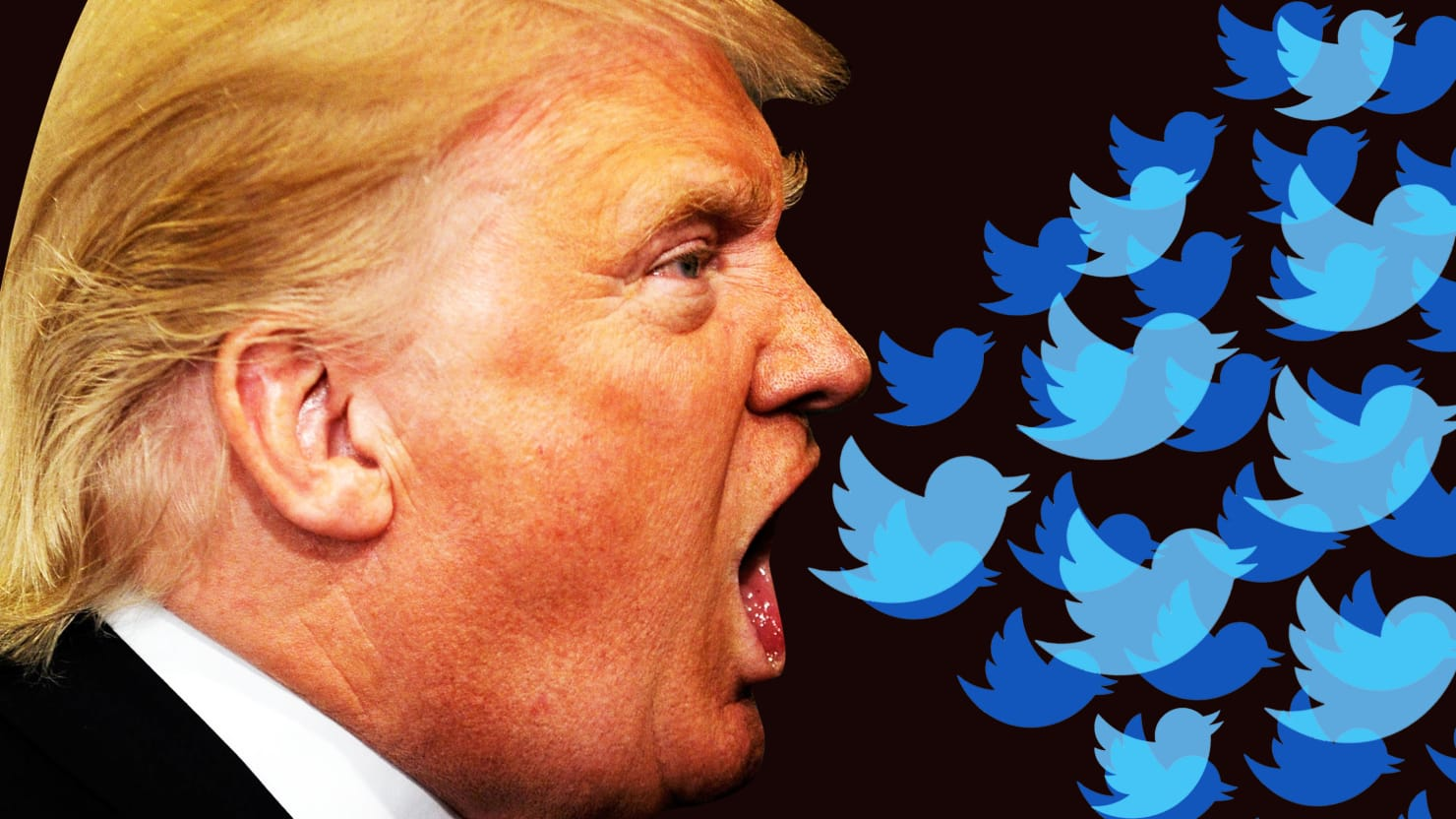 Hell Is Donald Trump's Twitter Feed, and There Is No Escaping It