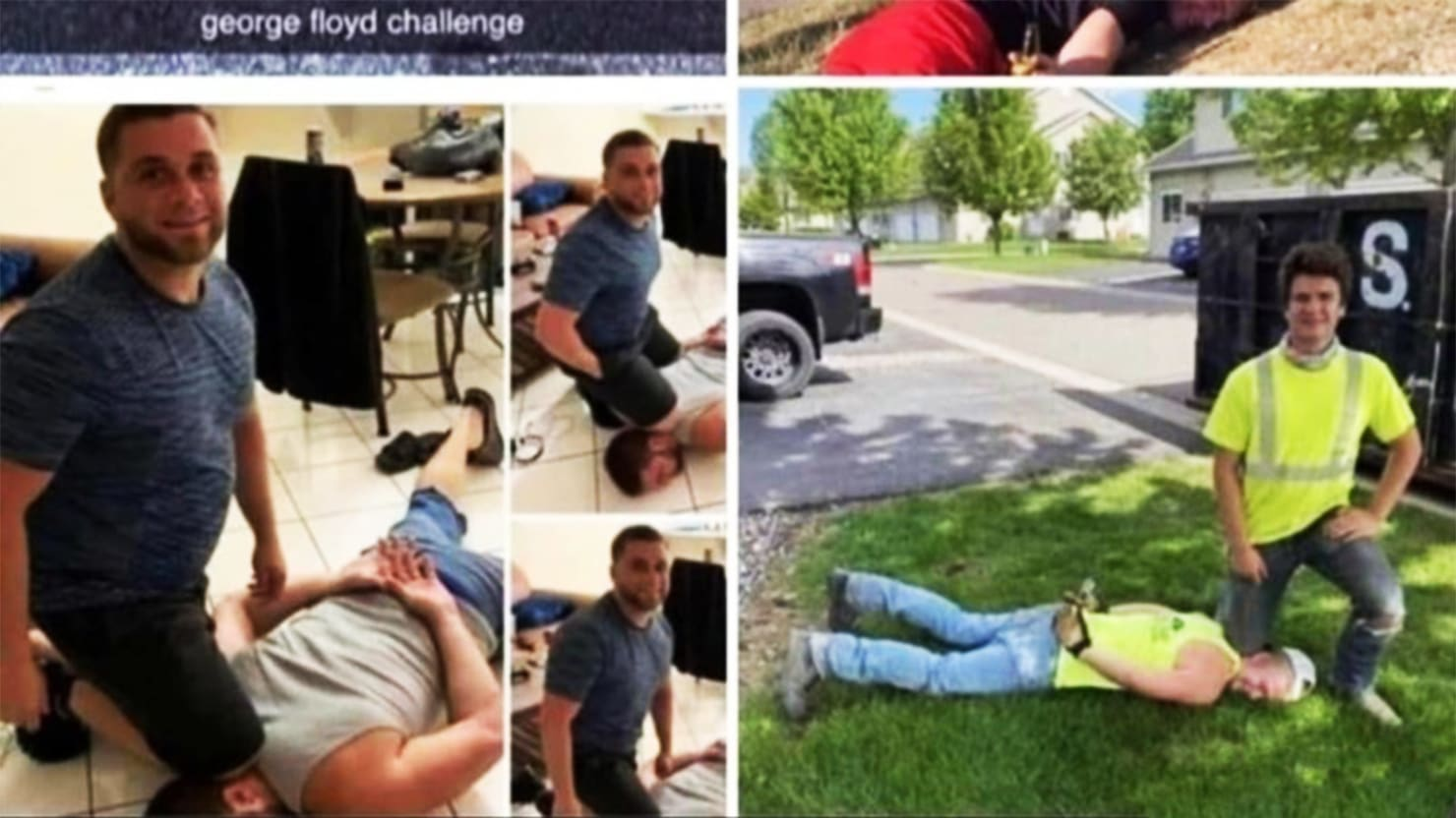 The 'George Floyd Challenge': How a Handful of Racist Idiots Went Viral
