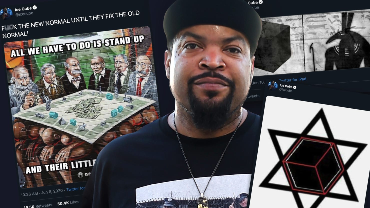 What The Hell Is Going On With Ice Cube? - cover