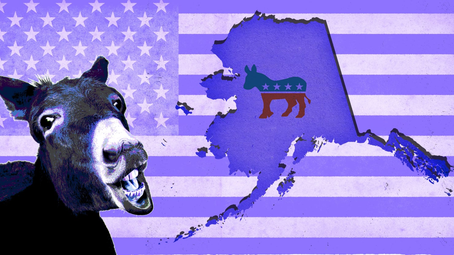 'A Little Bit Weird' Alaska Flirts with Purple State Status