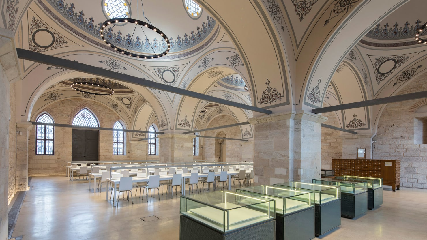 Once an Istanbul Soup Kitchen, Now One of the World's Most Beautiful Libraries