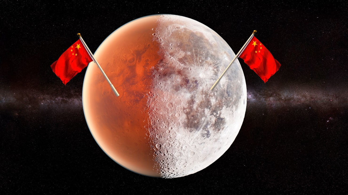 China Wants to Be First to Colonize the Moon and Mars