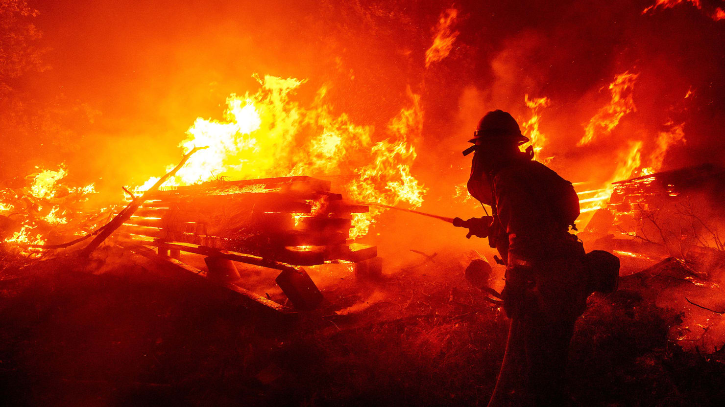 The Wildfires Engulfing the West Coast Have Become Dire