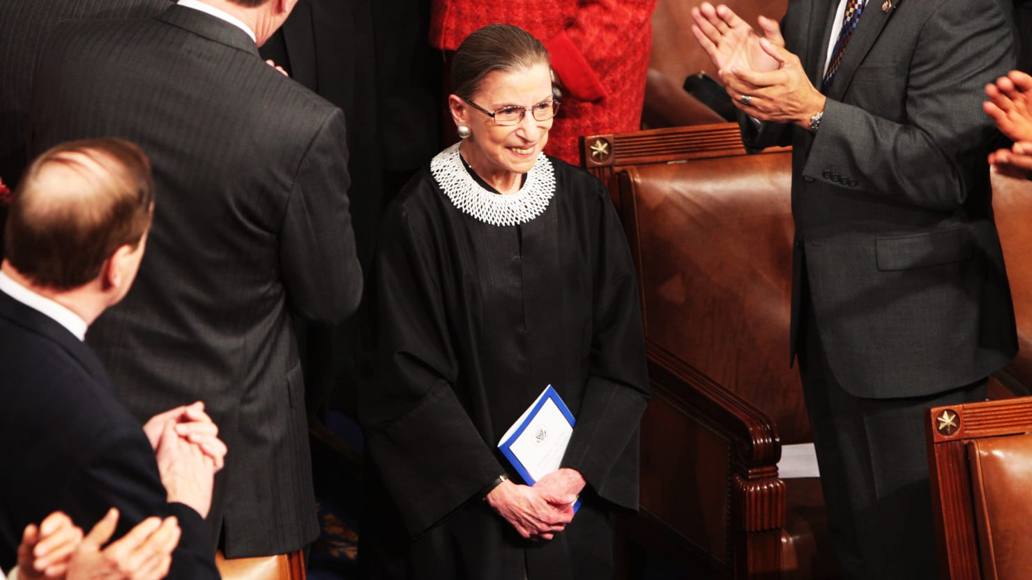 Ruth Bader Ginsburg's Incredible Life Goal: 'Repair Tears' in Our Society