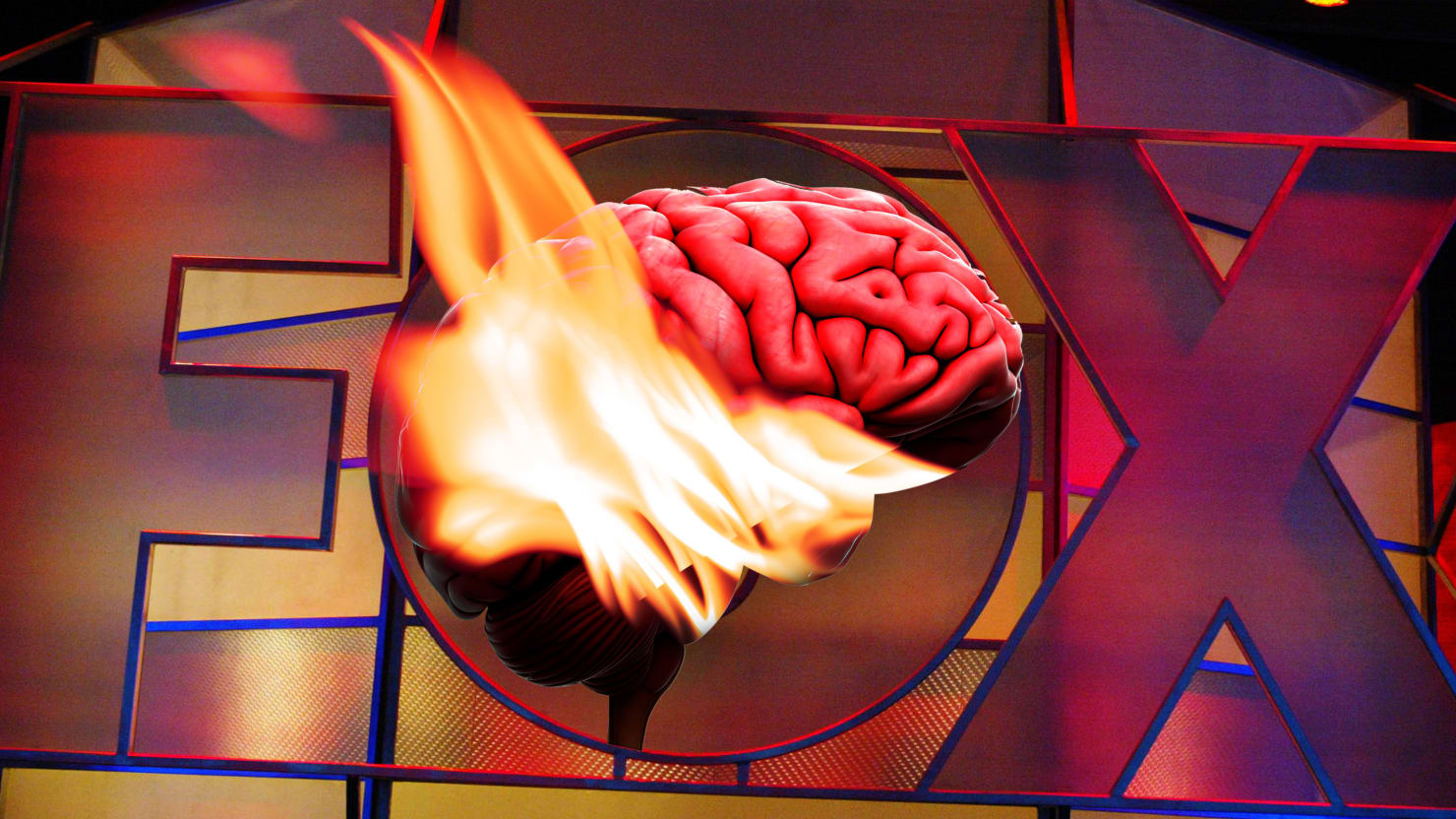 Fox News Lobotomizes Its Brain Room, Cuts Fact-Based...