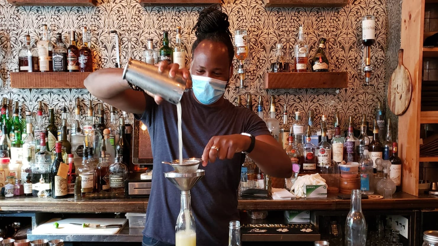 Cocktails in the Time of Corona: Harlem's Pioneering 67 Orange Bar