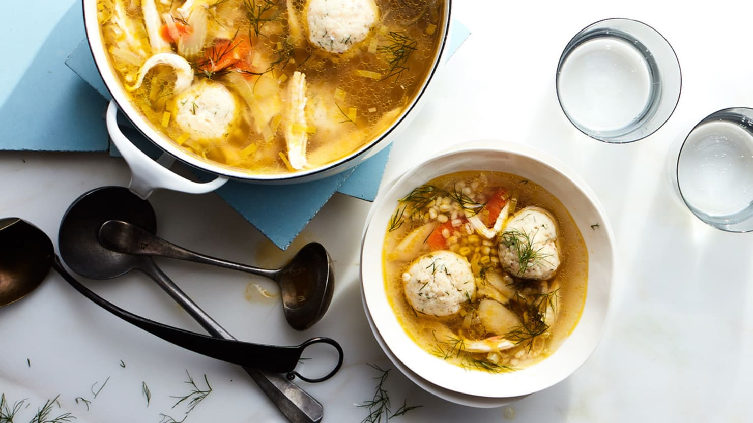 A Bowl of Gail Simmons' Matzo Ball Soup Will Cure What Ails You