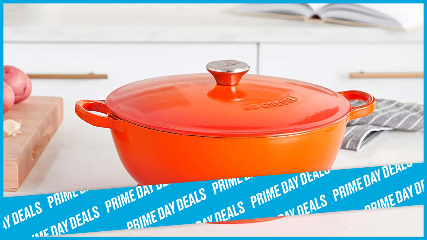 This Classic Le Creuset Oven Is On Sale for Prime Day