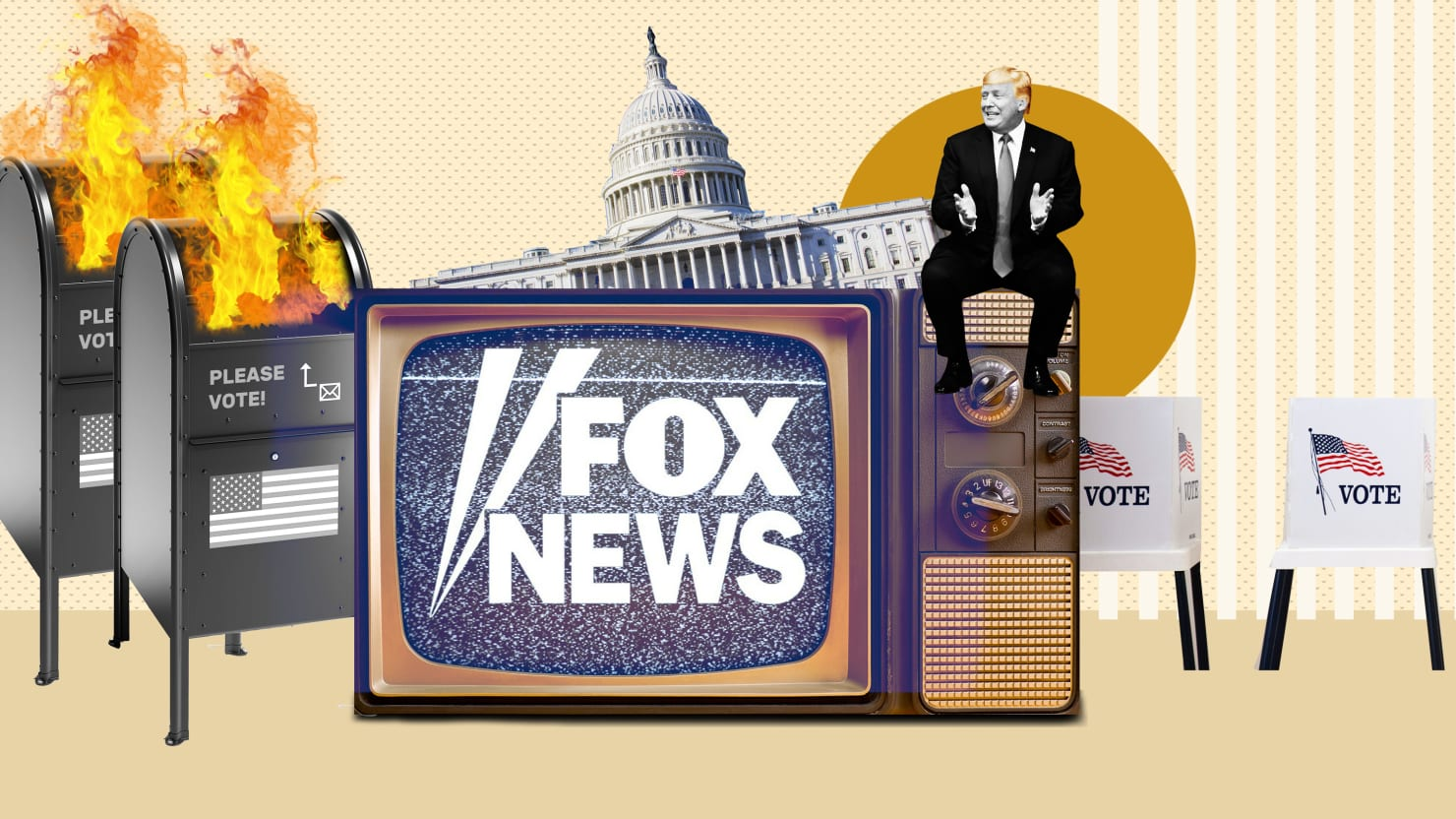 Fox News Pushing 'Brain Room' to Lend Credibility to Trump's Voter Fraud Paranoia, Insiders Say
