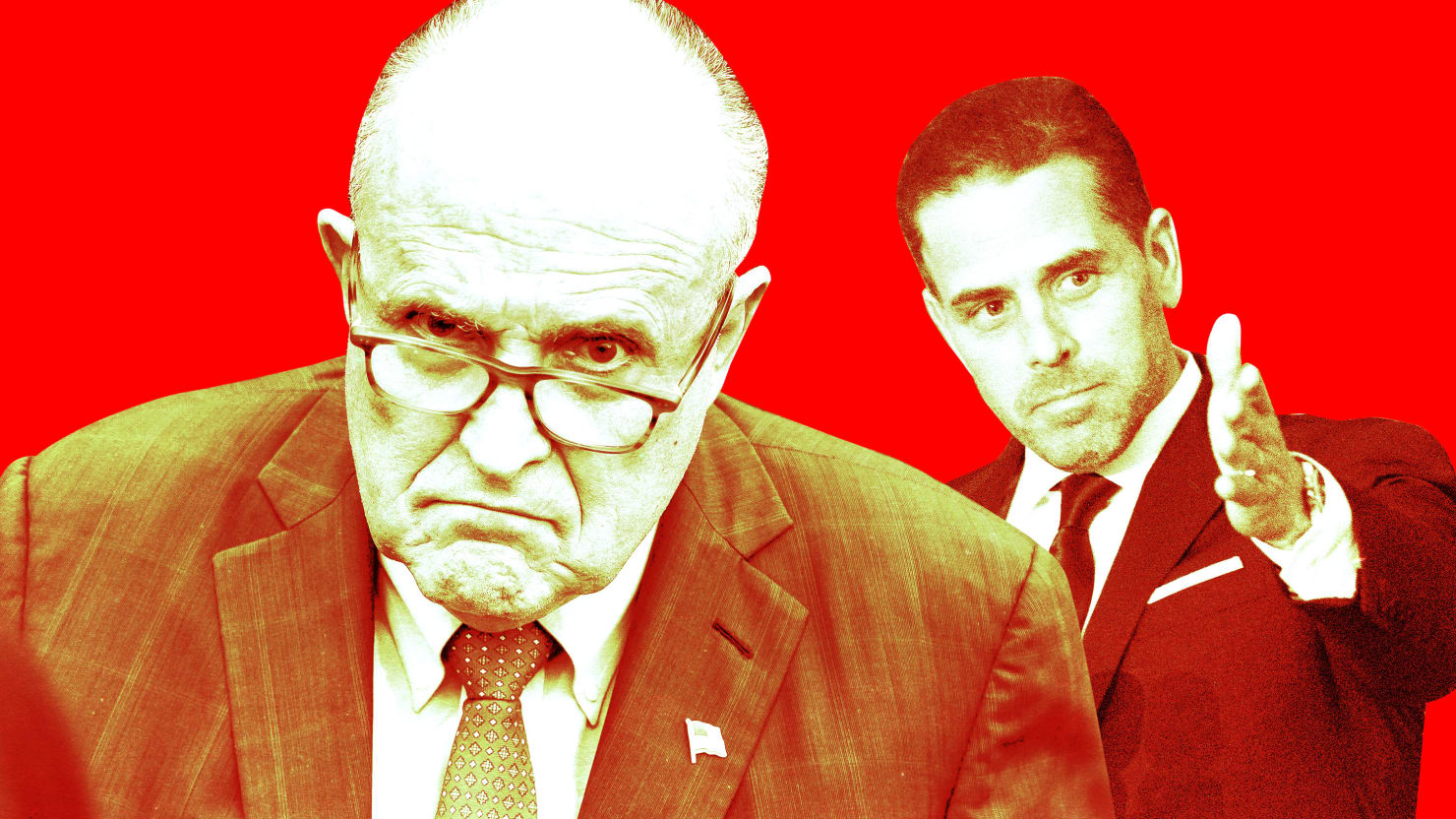 Trump Knew for Weeks That Rudy's Hit on Hunter Biden Was Coming