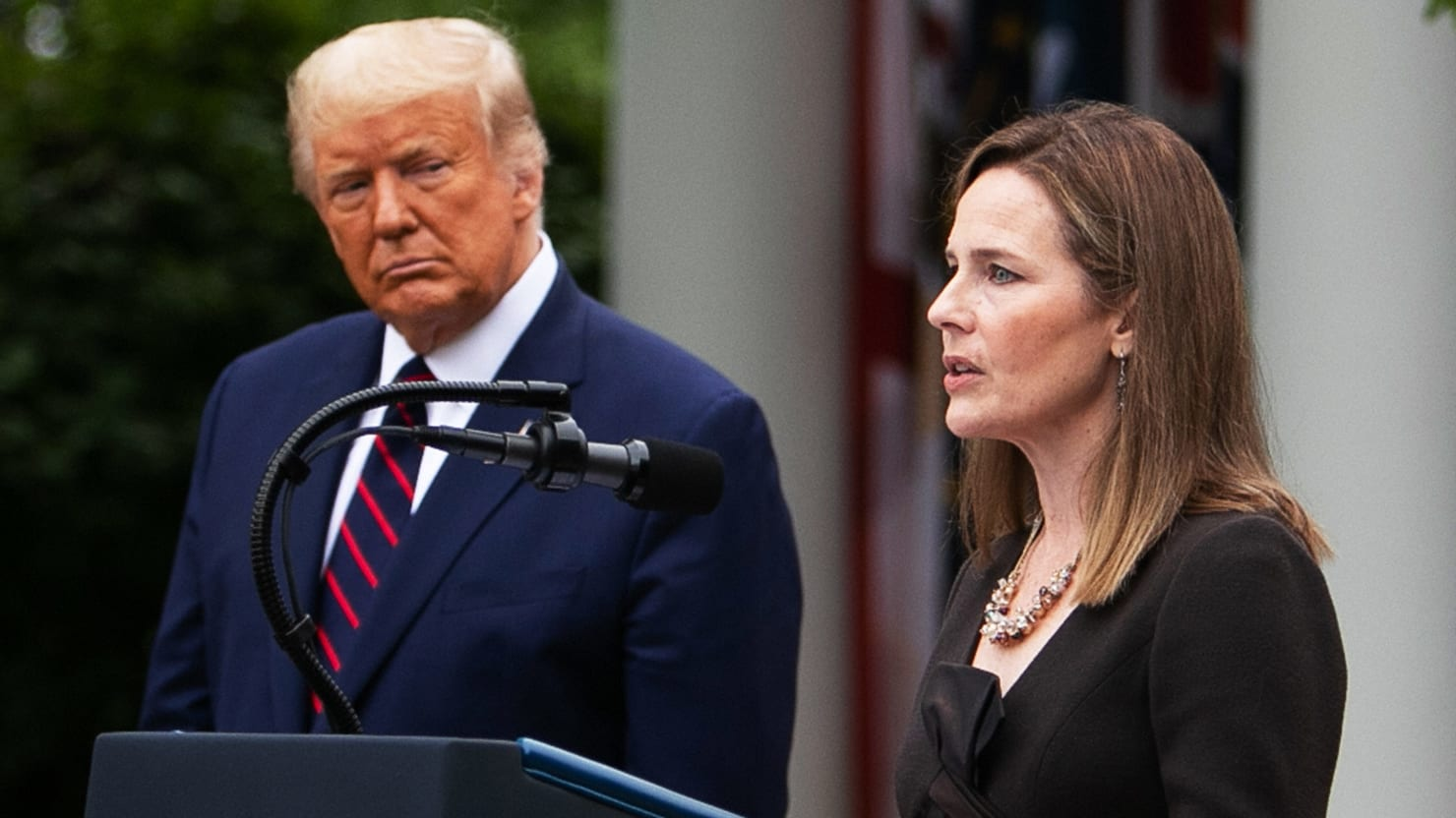 Does the Constitution Let Trump Round Up His Enemies? Amy Coney Barrett Won't Say.