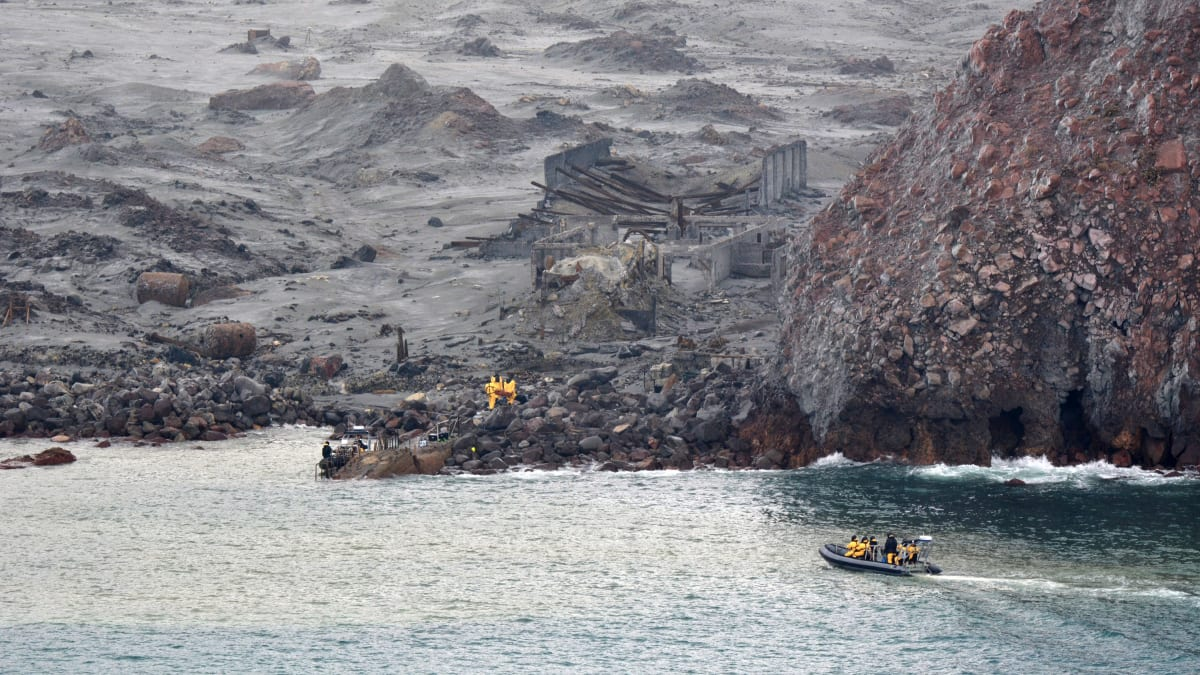 New Zealand Volcano: 6 Bodies Recovered From White Island, Raising Death Toll to 14