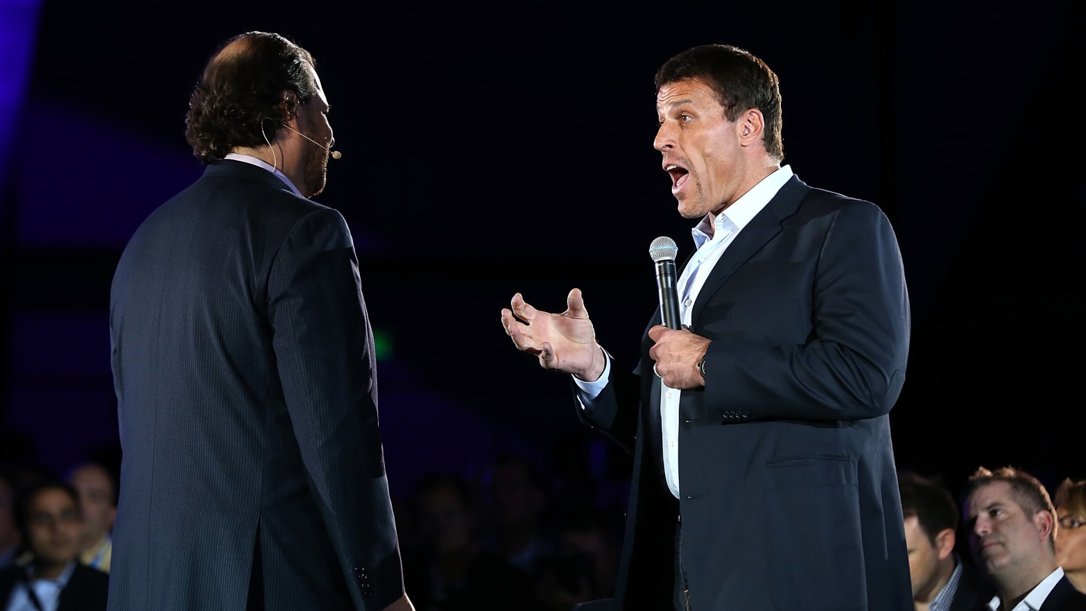 Tony Robbins: Self-Help Guru Denies Sexual Harassment