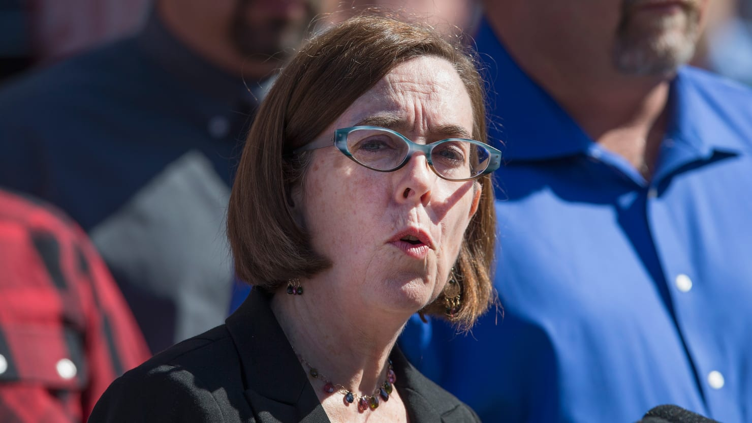 Oregon Gov. Kate Brown Dispatches State Troopers to Find Senate Republicans Who Skipped Out on Climate Vote