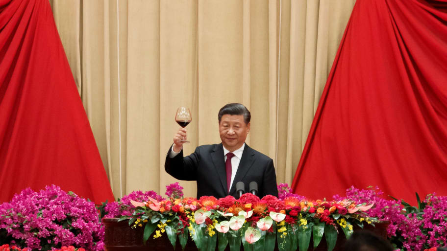 Chinese President Xi Jinping Warns of 'Crushed Bodies' if Anyone Tries to Divide China
