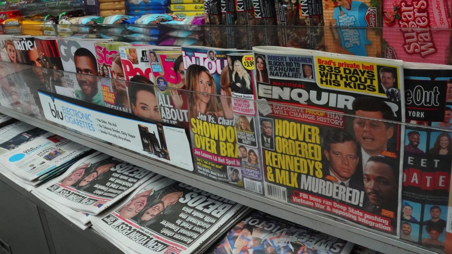 The Celebrity Tabloids Enter Bizarro-World Amid Coronavirus