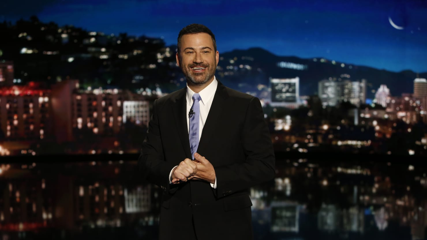 Jimmy Kimmel Mocks Sarah Huckabee Sanders' Excuse for John Kelly's NATO Frustration