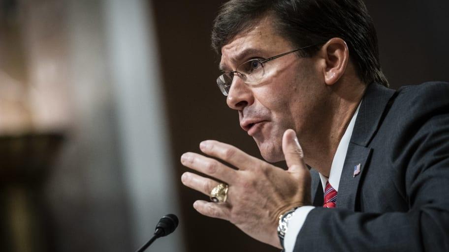 Senate Confirms Mark Esper as Secretary of Defense