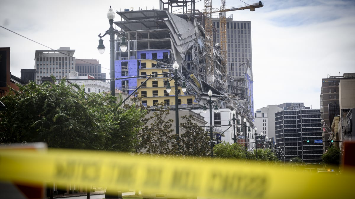 Video: Hard Rock Hotel in New Orleans Where Three Died Demolished