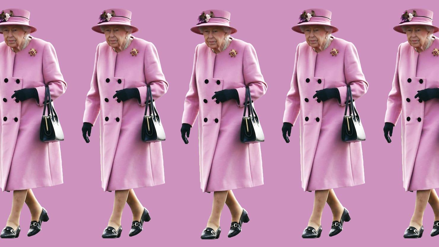 Queen Elizabeth Wore a Pink Coat. The World Went Wild.