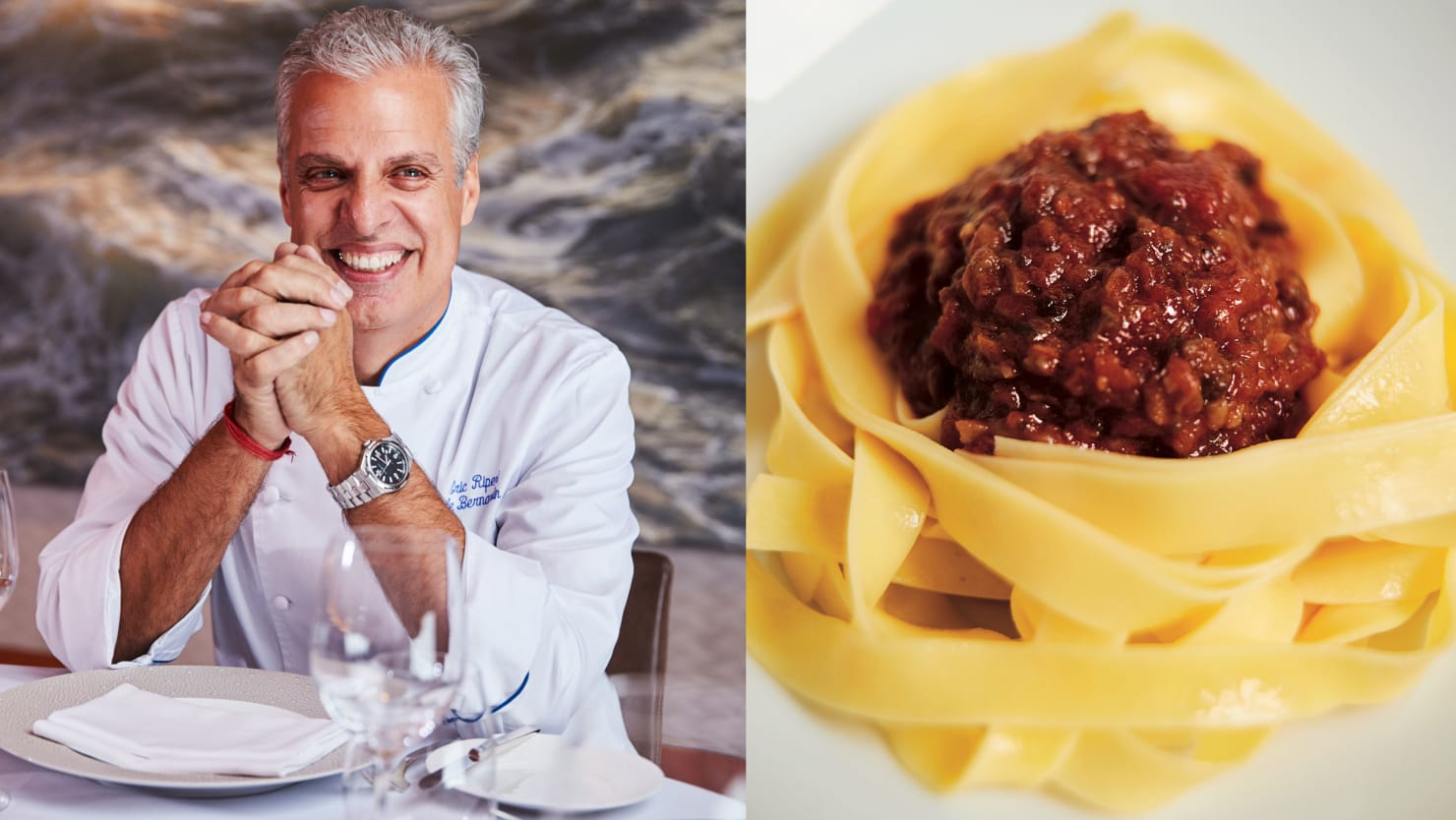 Can You Make Bolognese Without Meat? Eric Ripert Thinks So