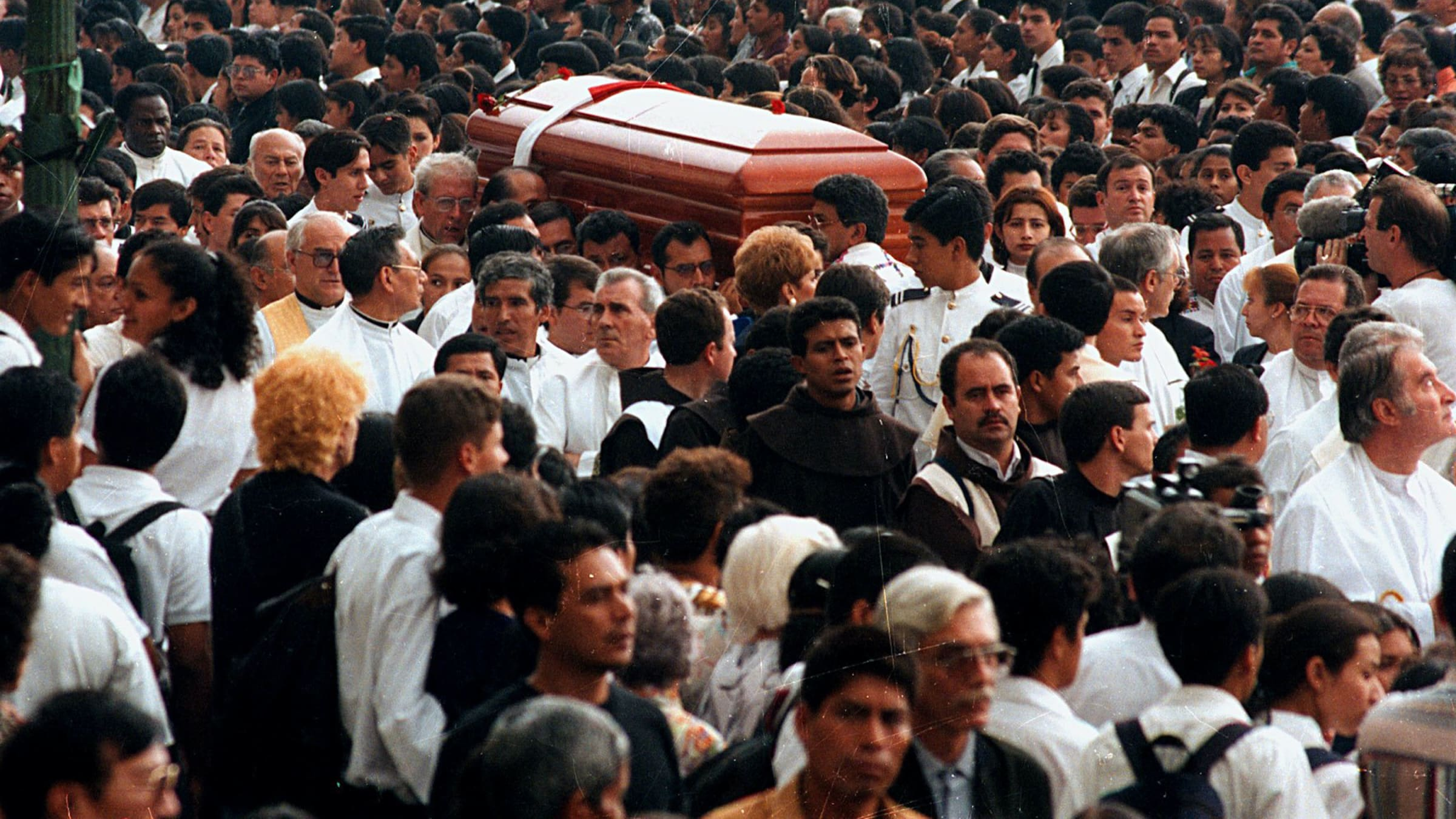 "The new HBO doc ""The Art of Political Murder,"" executive produced by George Clooney, examines the murder (and cover-up) of Guatemalan Bishop Juan José Gerardi. 201214-Schager-The-Art-Of-Politcal-Murder-doc-tease_lvcyke"