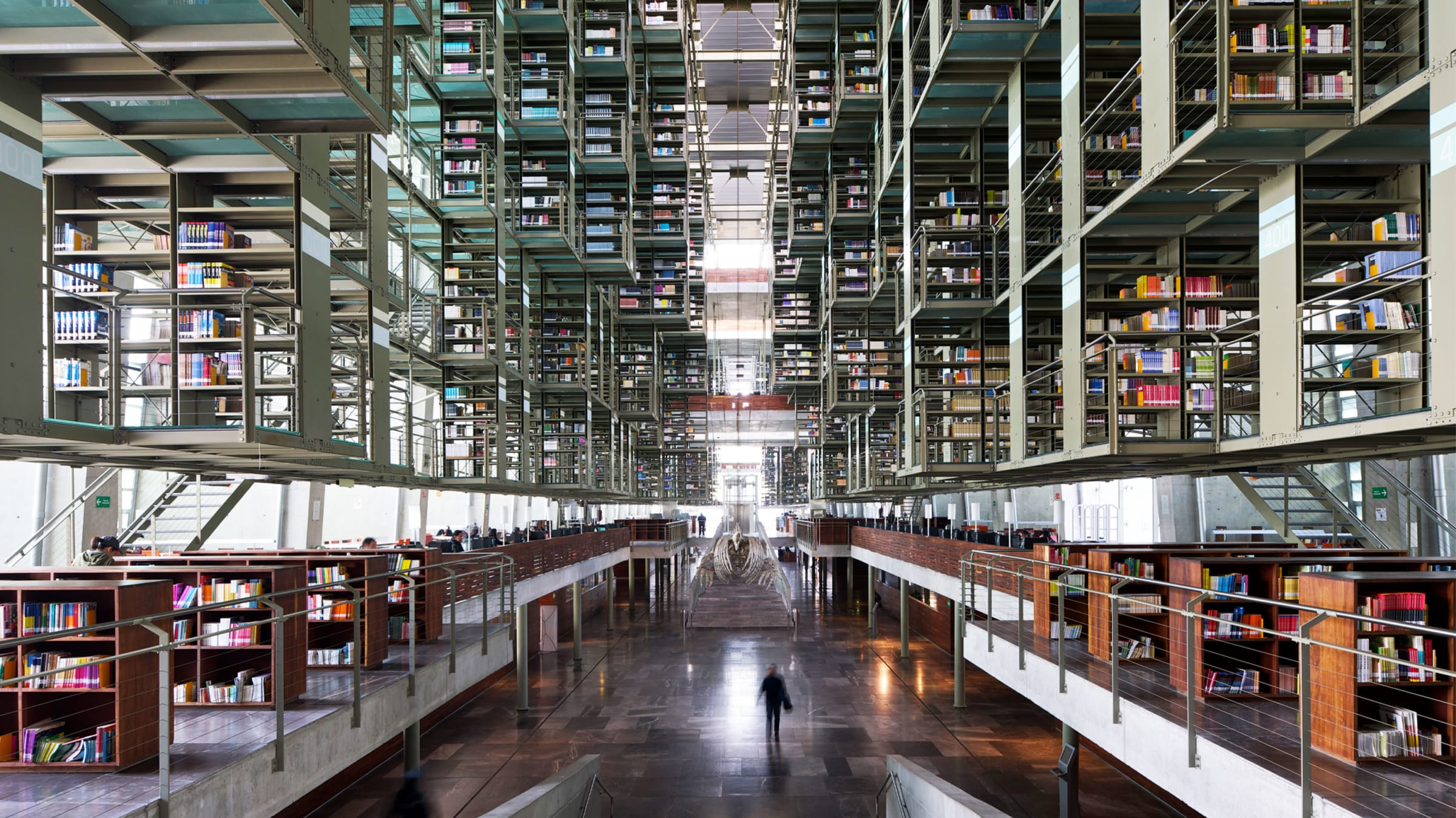 Biblioteca Vasconcelos Is One of the World's Most Beautiful Libraries