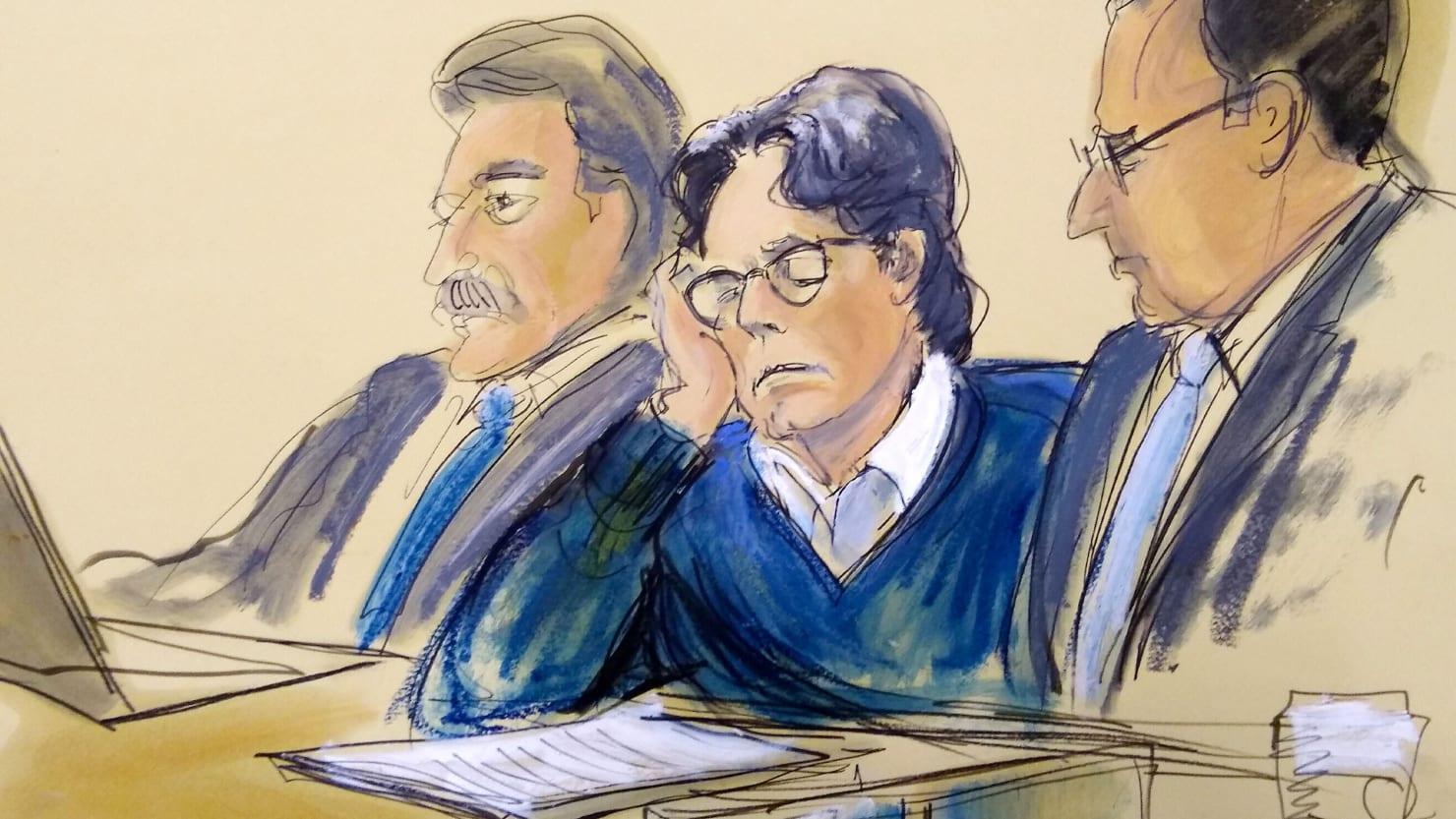 The Fall of the NXIVM Sex-Cult: Keith Raniere Sentenced to 120 Years in Prison - cover