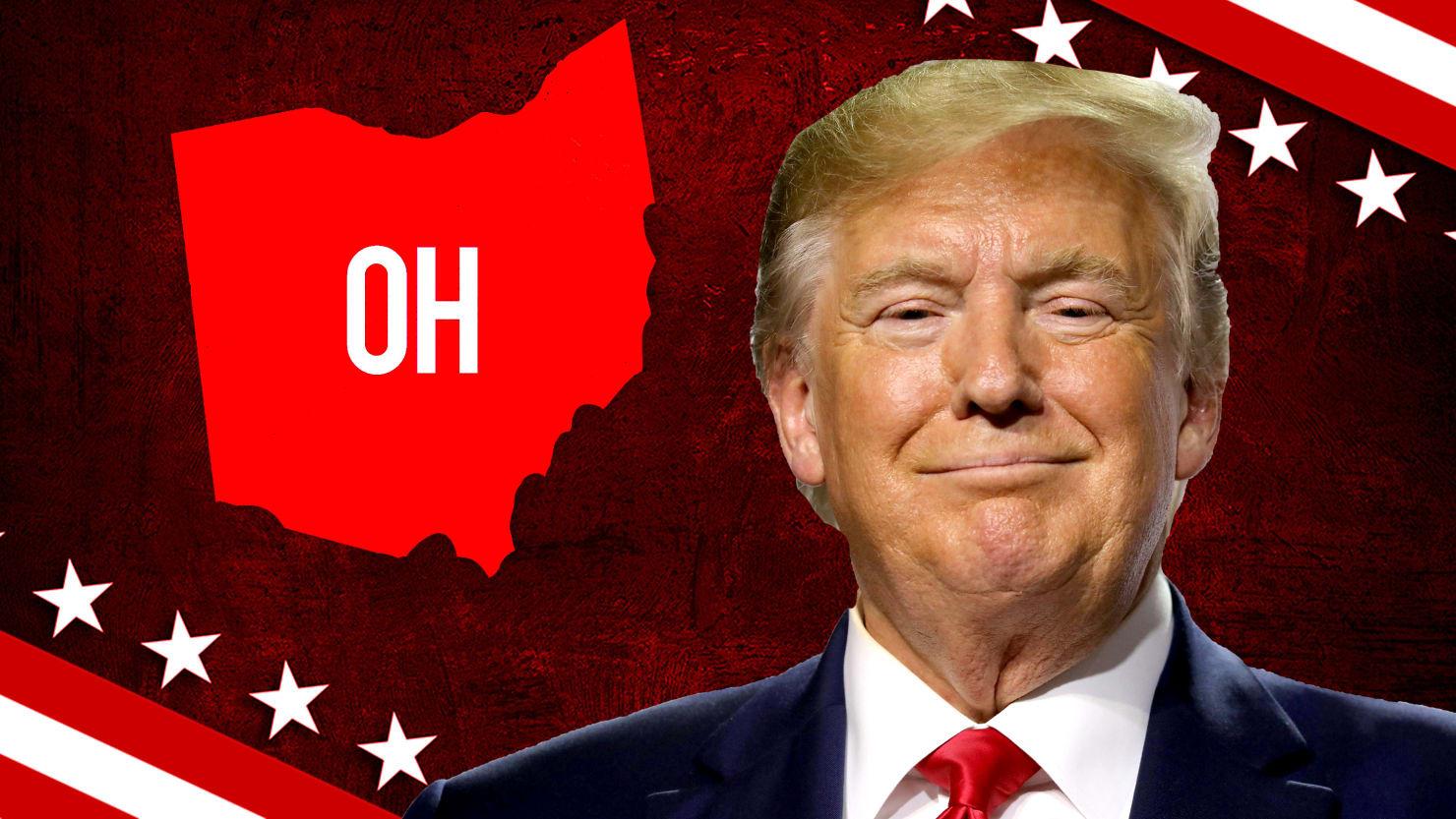 Donald Trump Sweeps Ohio Again