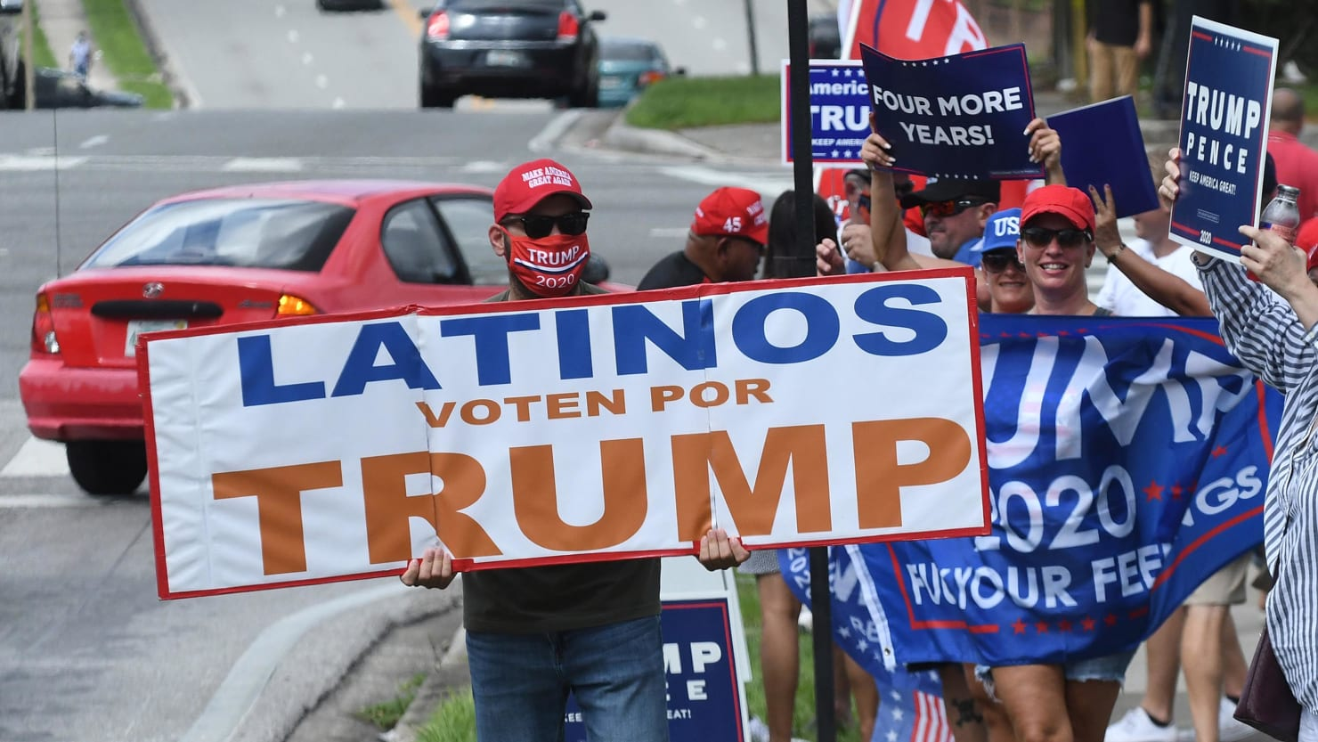 Why So Many Latinos Backed the Man Who Keeps Smearing Us