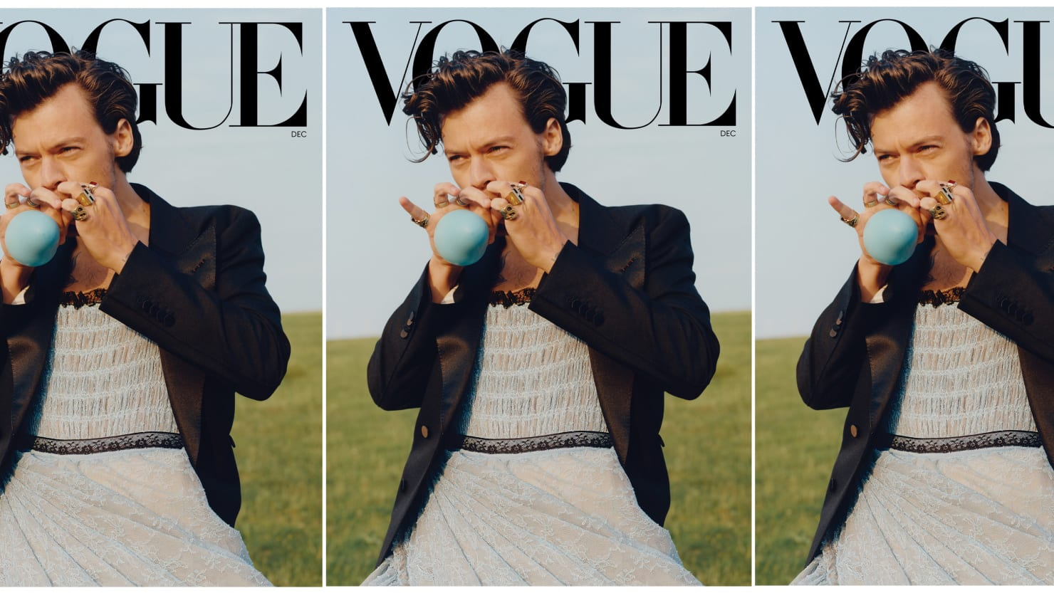 Harry Styles' 'Vogue' Cover May Be Historic, But It Isn't Radical