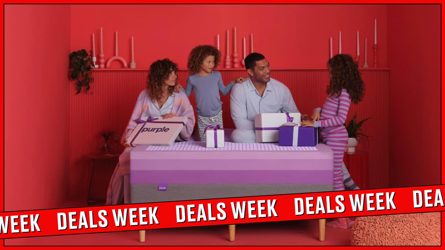 Purple's Mattress and Sleep Bundle Black Friday Sale Is A Total Dream for Bad Sleepers