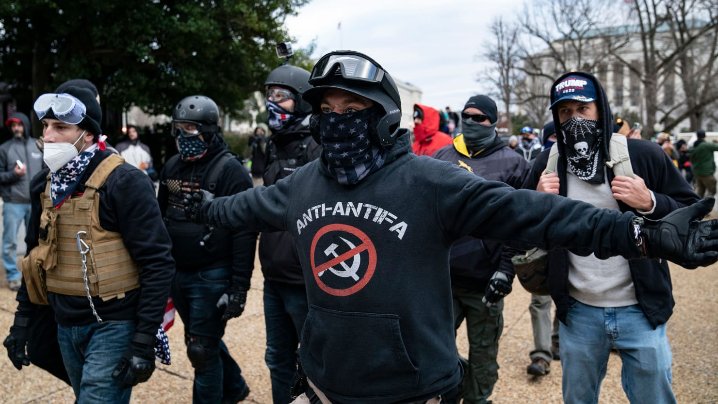 Russian Media Pushes the Lie That Capitol Rioters Were Antifa