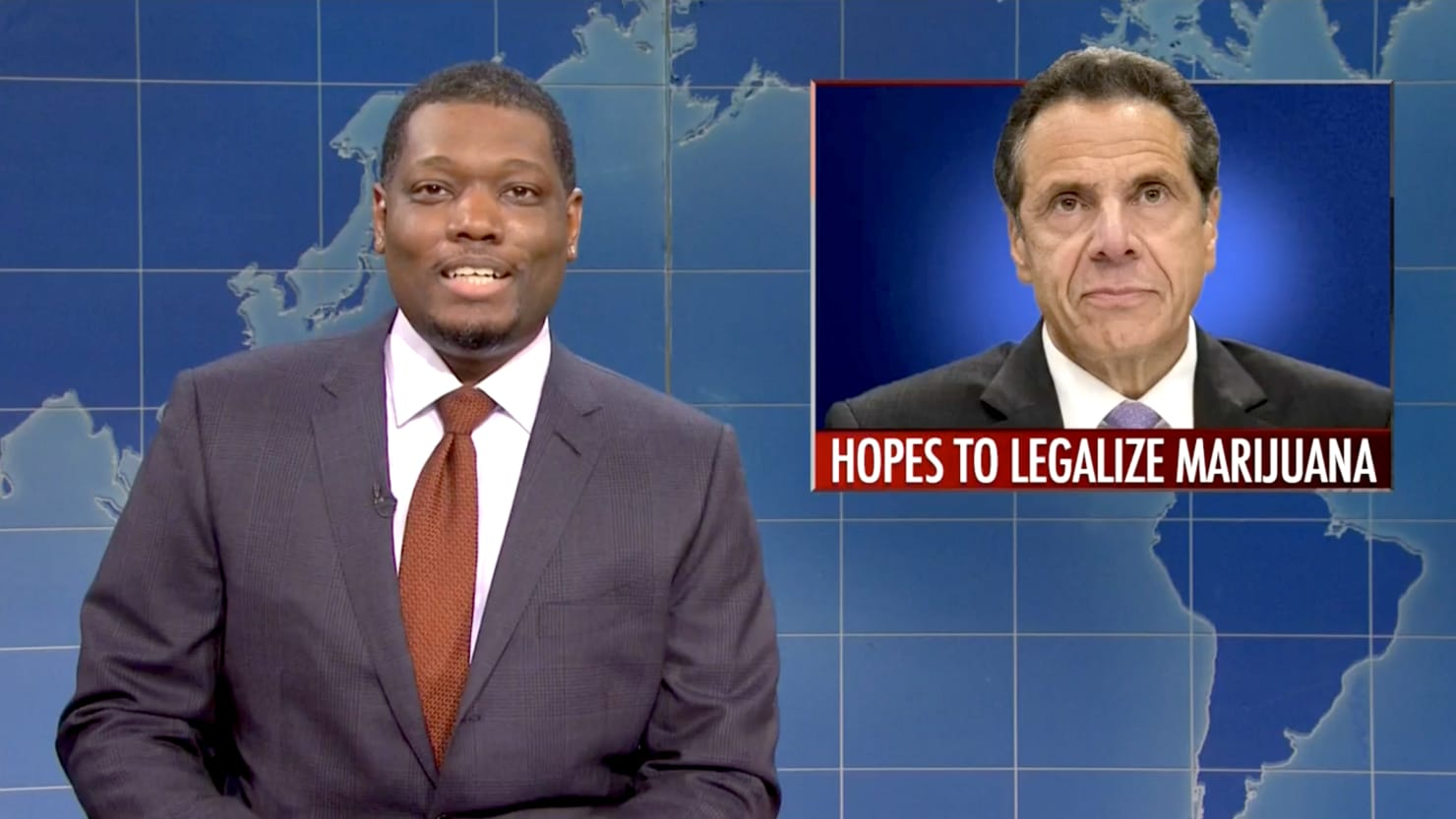 SNL's Weekend Update Unloads on Andrew Cuomo Over COVID 'Cover-Up'