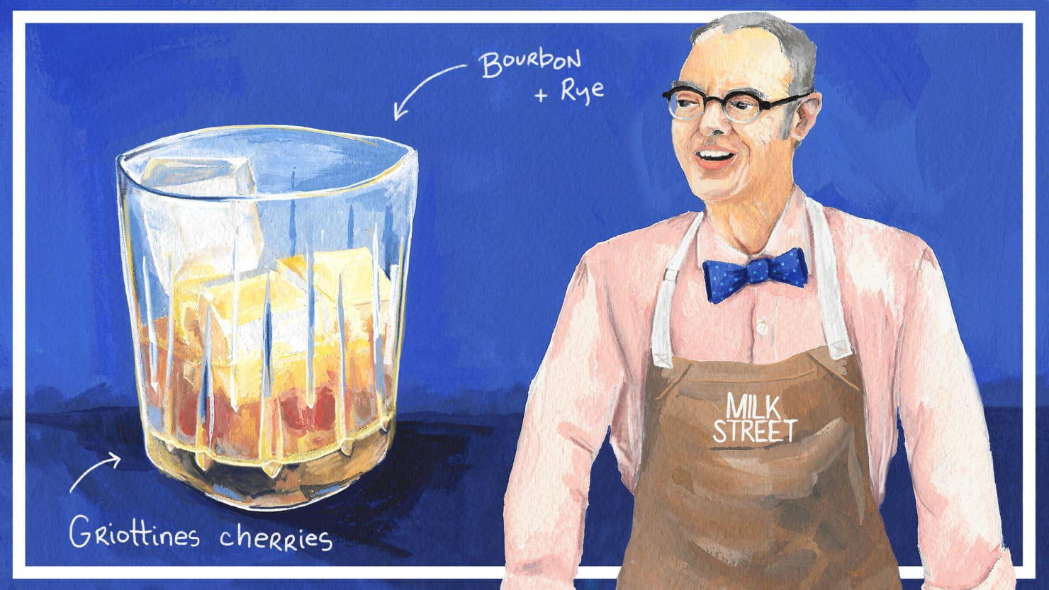 Christopher Kimball's Supremely Unorthodox Old-Fashioned