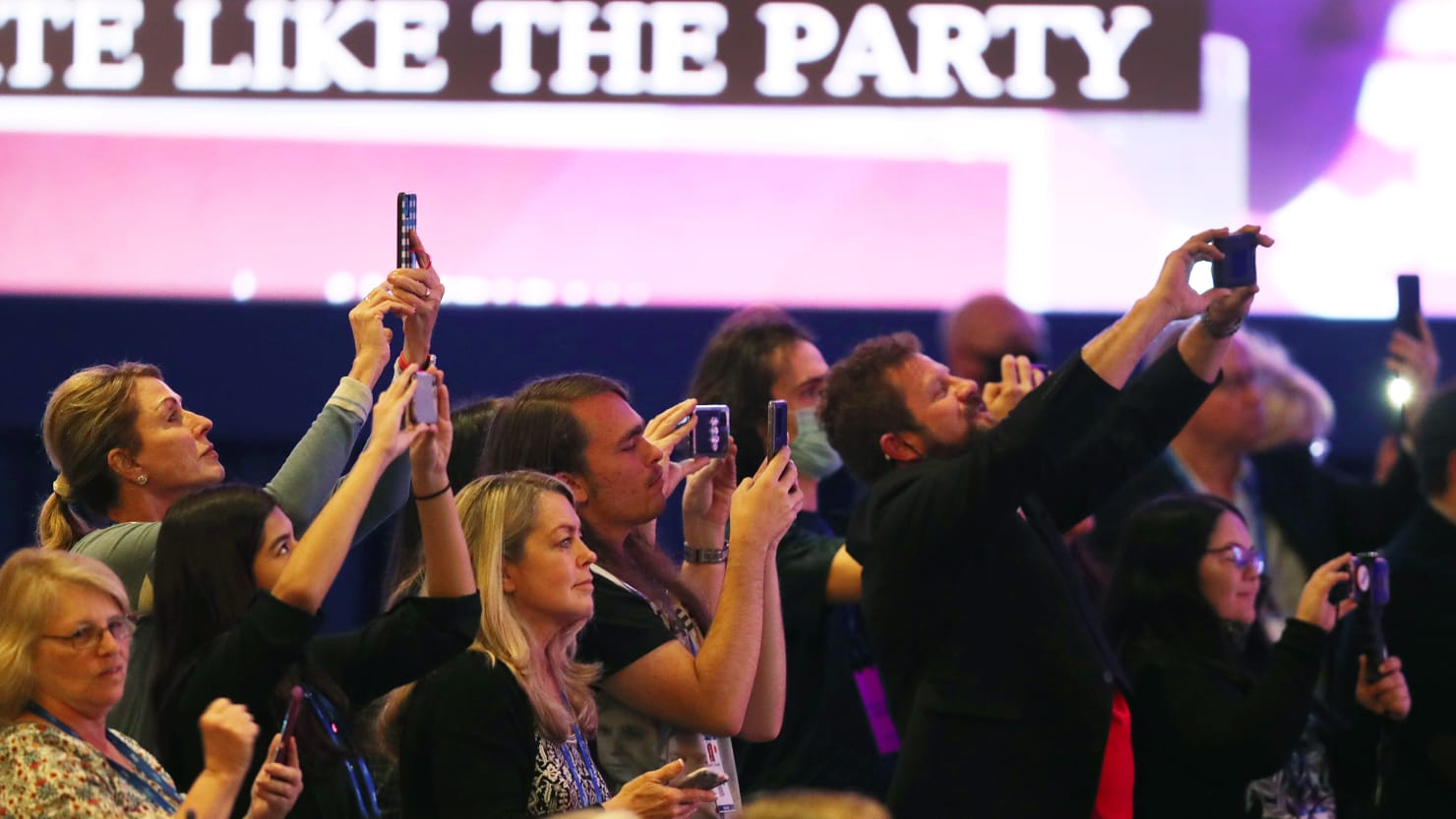 Officials Make Surprise Visit to CPAC After Crowd Boos Mask Requirements