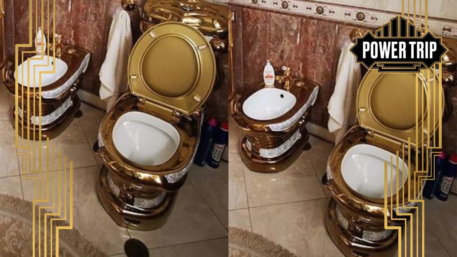 Busted Cop Exposed as Member of Russian Elite's Golden Toilet Fetish Club