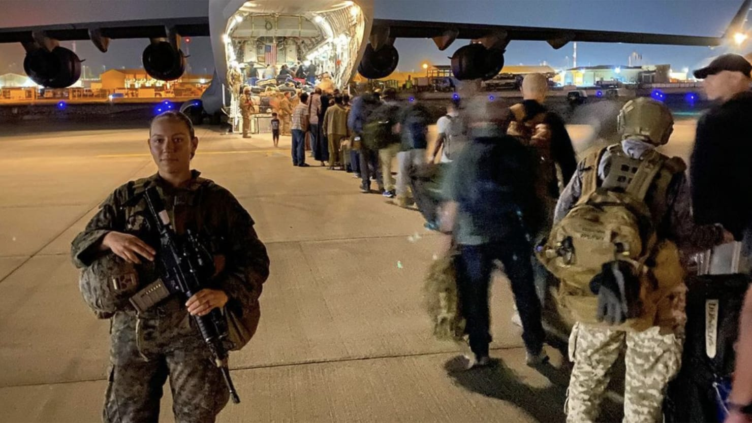 Russian State TV Host Compares Slain Kabul Marine to Ashli Babbitt in Deranged Rant