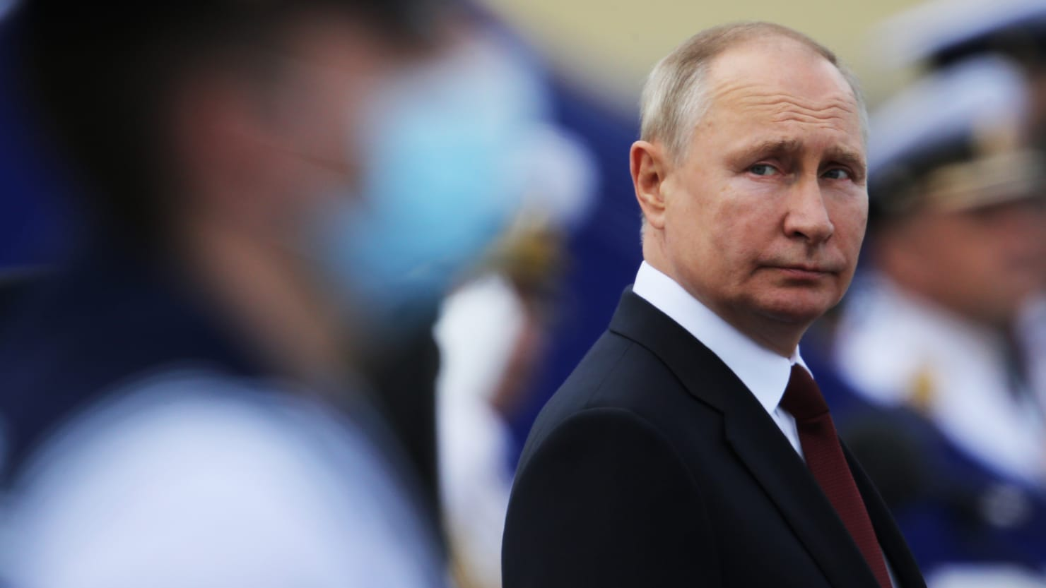 Putin in Isolation After COVID Cracks His Elaborate Self-Preservation 'Bunker'