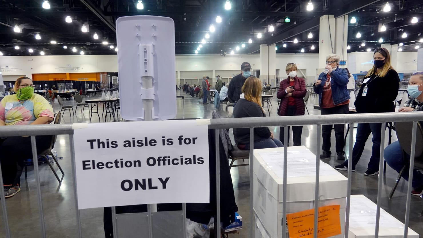 Trump Observers in Wisconsin Are Harassing Vote Counters and Obstructing Recount, Officials Say