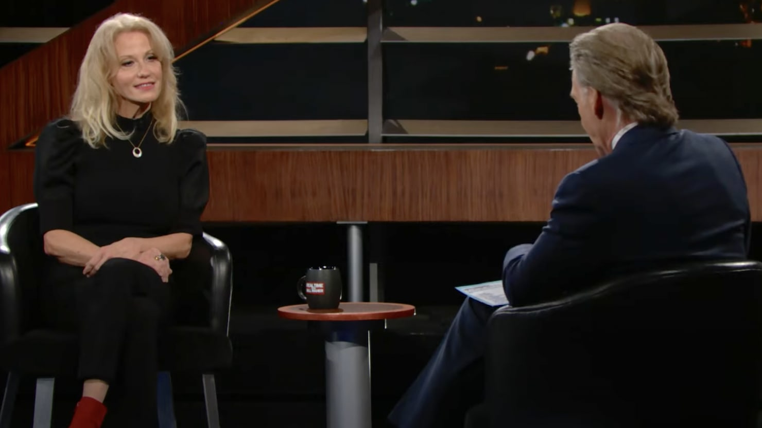 Bill Maher Delivers Final Insult to Kellyanne Conway