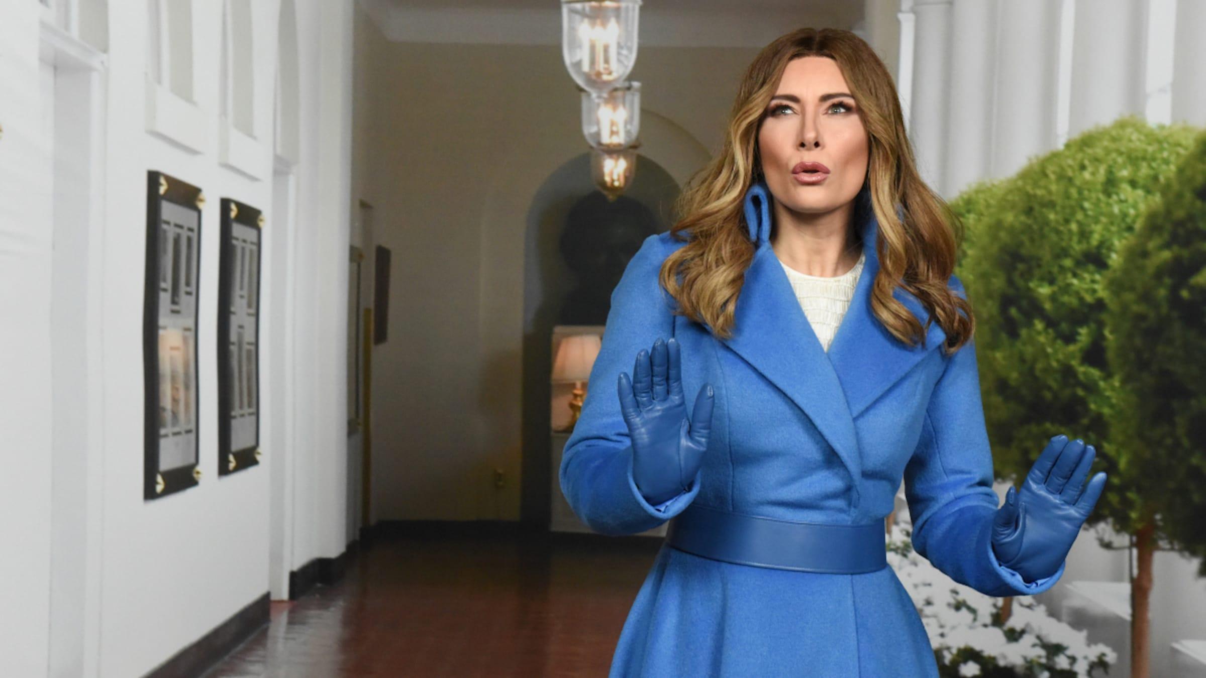 Colbert's' Laura Benanti Delivers One Last Musical 'Fuck Off' to Melania  Trump