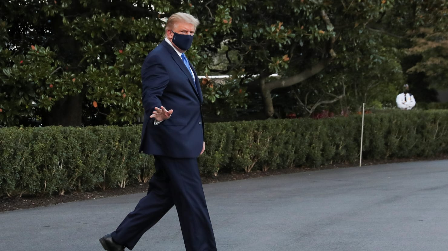 Trump's Staff Decided to Send Him to the Hospital While He Could Still Walk on His Own: WaPo