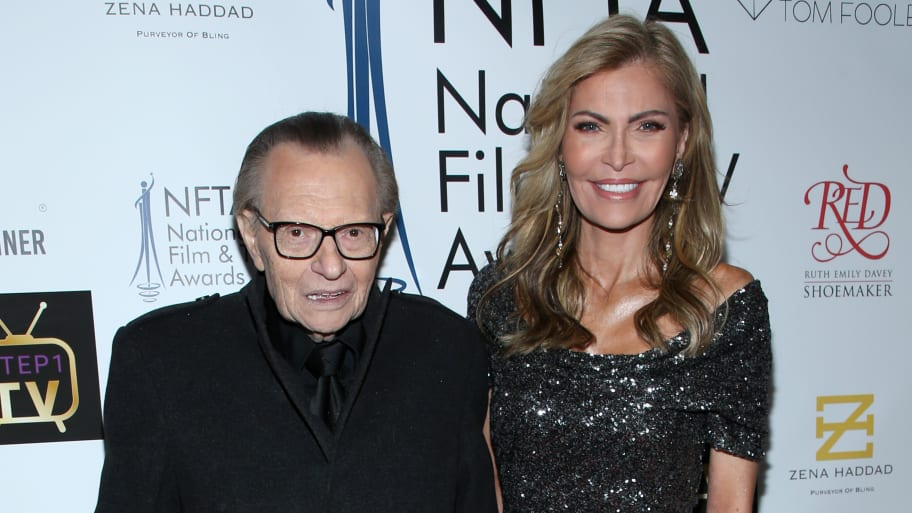 Larry King Seeks Divorce From Seventh Wife, Shawn King