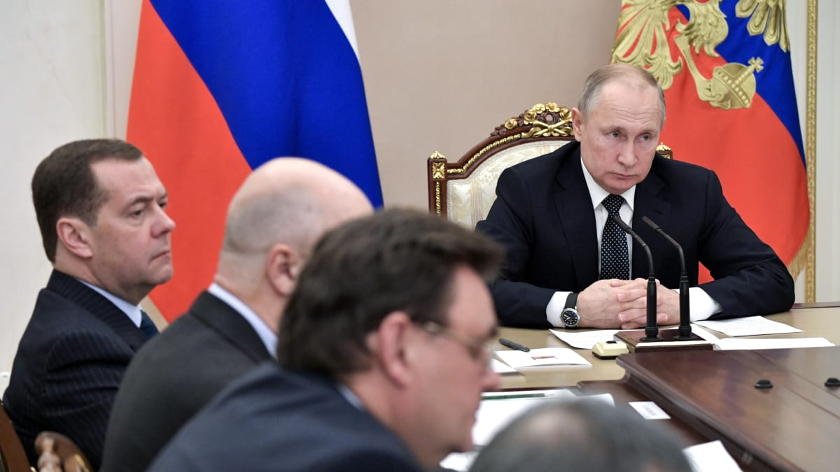 Russian Prime Minister Submits Resignation to Putin, Reports Say