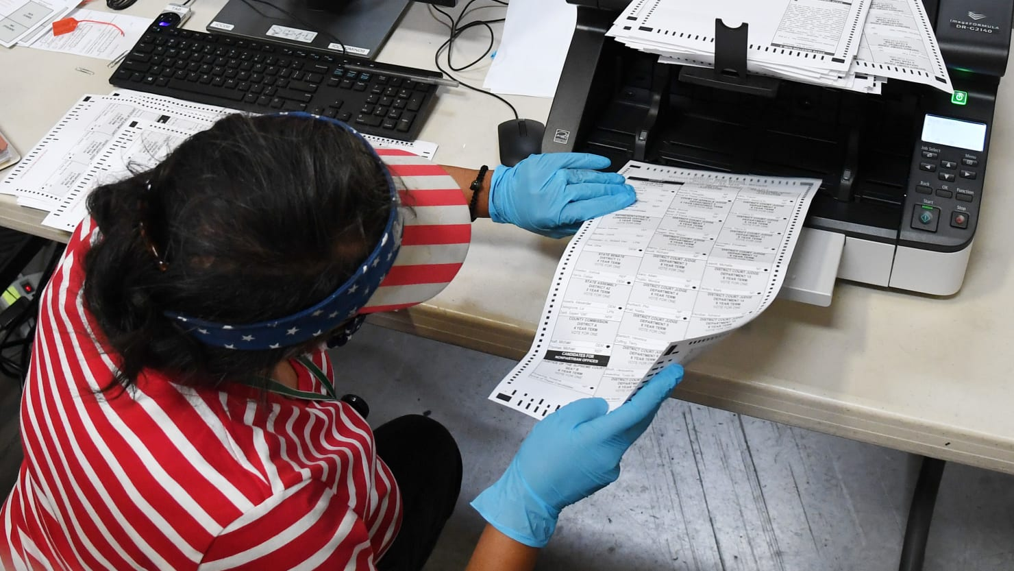 Nevada GOP Files Emergency Motion to Disrupt Mail-In Ballot Counting