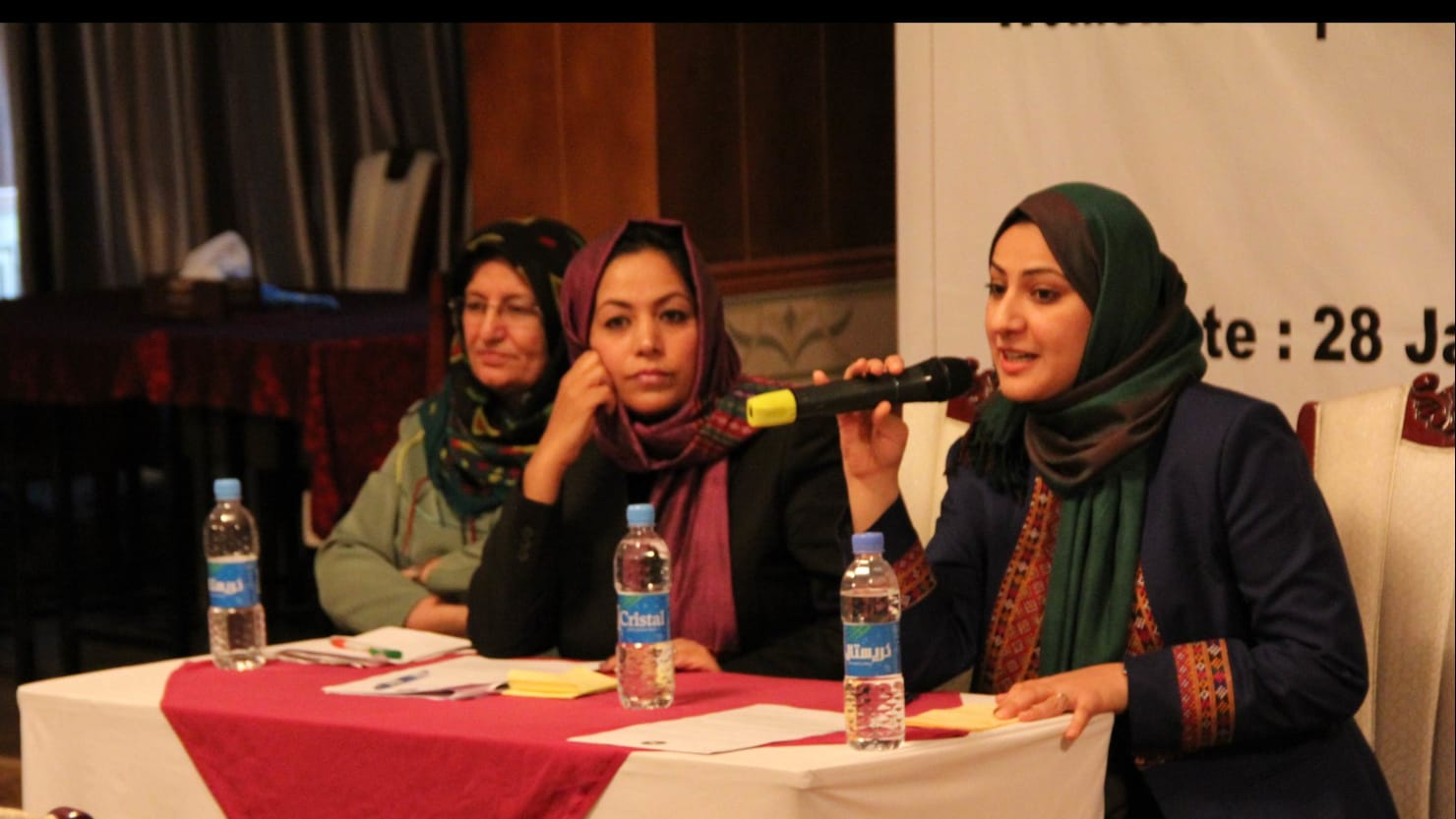 Amid Unrest, Afghan Women Push For Role in Peace Process