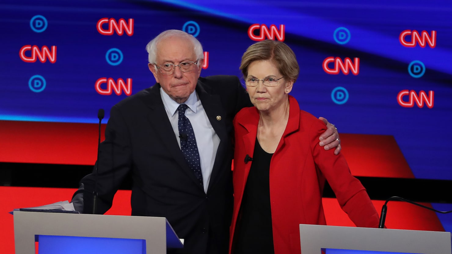 Sanders Pitches Warren and Supporters For Their Endorsement