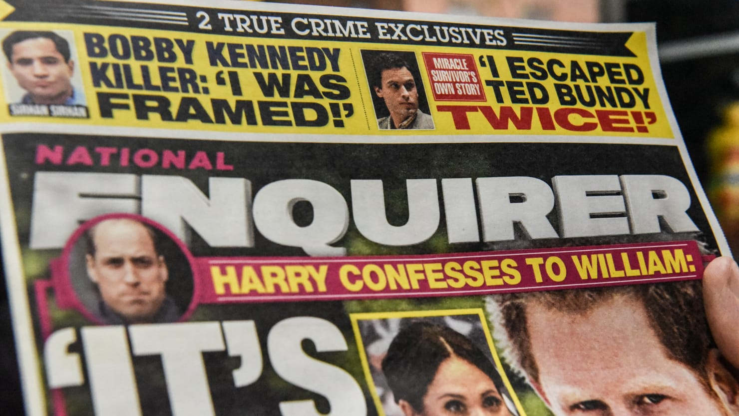 The National Enquirer's David Pecker 'Tried to Extort Me,' Claims Theme Park Promoter